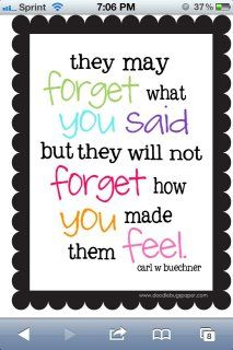 One of my favorite sayings.