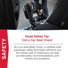 At A Car Seat Safety Check Certified Child Passenger Technician Will Teach You