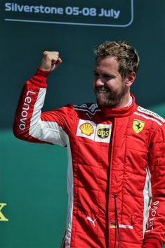 "Sebastian Vettel #5 on Twitter: ""Sebastian Vettel Podium Celebrations  - ☝ - 😚🏆 - 🕺 - 💪   #BritishGP 🇬🇧 #Seb5… """