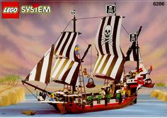 Do you still have your old Lego sets? Cash them in with this complete Lego Pirate Ship resale guide! I've compiled a price list on every original Lego pirate ship from 1989 to present day! Bateau Pirate Lego, Lego Pirate Ship, Pirate Ships, Old Lego Sets, Best Lego Sets, Fisher Price, Digimon, Power Rangers, Legos