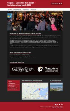 Lancement Gaspésie • Tourisme • Gaspésie | Réalisé avec Mon site Primo, solution pour créer son propre site Web