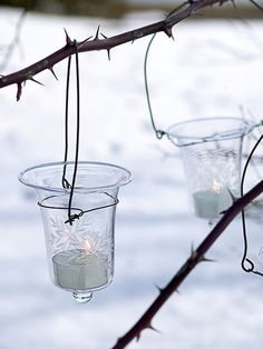 need these for a hanging black wrought iron holder.