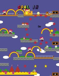 Rainbow Island, the game where you can make a double rainbow!