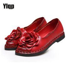 Летний стиль 2017 г. мягкие повседневные Мокасины женские цветы Высококачественная брендовая одежда натуральная кожа обувь женская обувь на ...(China (Mainland))