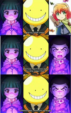 Koro-sensei Quest. Fanart, Assasination Classroom, Anime Japan, Hilarious, Funny, Assassin, Random Stuff, Ships, Fandoms