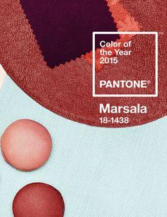 'Marsala' Pantone 2015