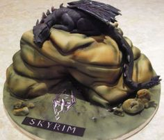 Delicious Skyrim Cake