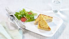 Recipe for french toast with cheese and ham