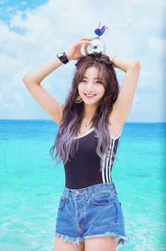 """TWICE look amazing in """"Dance The Night Away"""" album pictures - Asian JunkieTWICE recently made their comeback withSee all of TWICE's pictures on kpopping.all credit goes to the original source Kpop Girl Groups, Korean Girl Groups, Kpop Girls, K Pop, Twice Chaeyoung, Jihyo Twice, Twice Kpop, Tzuyu Twice, Girl Dancing"""