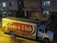Havana Club truck in La Habana. #Mojito #Havana #Club #havanclub  #lahavana #lahabana #truck #cuba #caribe