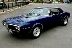1967 Firebird 400. Little car, big engine...when you just feel like melting your rear tires.
