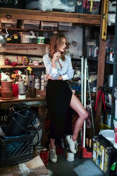 Camille Rowe for the So It Goes Spring/Summer 2014 issue, photographed by Guy Aroch and styled by Isaiah Weiss