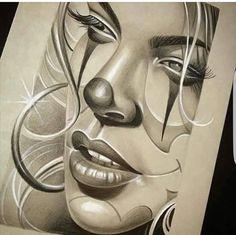 Chicano Style Tattoo, Chicano Love, Chicano Tattoos, Body Art Tattoos, Tatoos, Arte Cholo, Cholo Art, Catrina Tattoo, Clown Tattoo