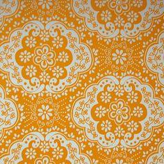 Room Seven behang Dentelle - yellow