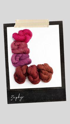 Zephyr is a worsted weight Muga silk. Crochet Necklace, Silk, Jewelry, Atelier, Jewlery, Jewerly, Schmuck, Jewels, Jewelery