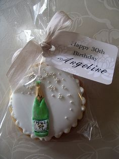 Champagne cookie | Flickr - Photo Sharing!