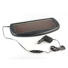 Solar Charger for 12V Car Battery - Quick Start your Engine - Prolong Battery Life