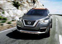 El #Nissan #Kicks #Concept fue presentado en el Salón de San Pablo. #autos #motor #coches