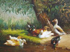 Patos do campo, por Rui de Paula