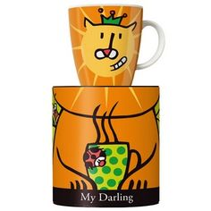 My Darling Lion coffee mug by Ritzenhoff. Design by Julien Chung. Jungle java at its best! 20 euros.