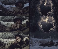 "Doc Roe: Lord, grant that I shall never seek so much to be consoled as to console; to be understood as to understand, to be loved, as to love with all my soul…with all my soul.      Band of Brothers 1.06 - ""Bastogne"""