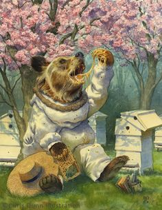 Beekeeper - Chris Dunn Illustration/Fine Art: Gallery