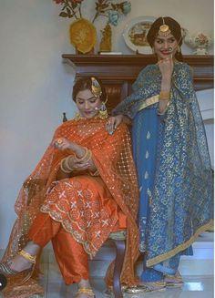 Punjabi Suits Designer Boutique, Boutique Suits, Indian Designer Suits, Indian Suits, Costume Halloween, Fete Halloween, Kurti Designs Party Wear, Kurti Neck Designs, Anita Dongre