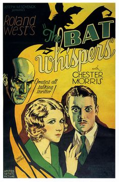 Roland West's The Bat Whispers, 1930.
