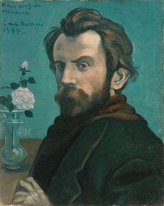 Émile Bernard: Self-portrait, 1897.