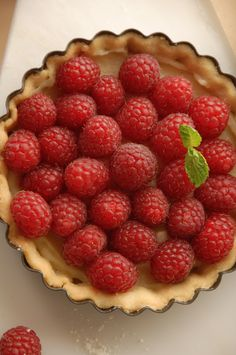 French raspberry tartlets (tartelette aux framboises) photo from my upcoming cookbook