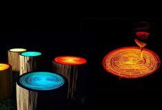 Tree ring lights