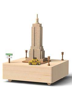 Ahşap Müzik Kutusu New York