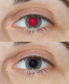 Red eye removal tool.