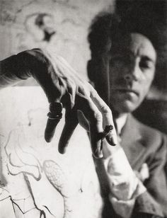 "© André Papillon, Portrait of Jean Cocteau. ""What the public criticizes in you, cultivate."" - Jean Cocteau S) Man Ray, Foto Portrait, Portrait Photography, Distortion Photography, Men Portrait, Dark Portrait, Photography Tips, Street Photography, Landscape Photography"