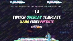 twitch overlay template llama pink fortnite - diamona twitch fortnite