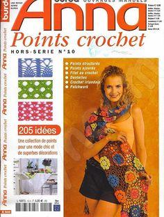 fanatica del tejido: REVISTA ANNE - free crochet stitches