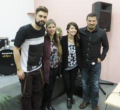 Worship Team with Tony