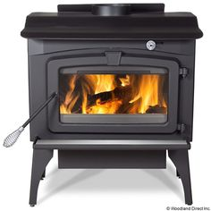Residential Retreat 2200 High Efficiency Wood Stove & Blower #LearnShopEnjoy