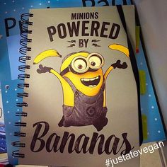 The one when you laugh out loud in a store because you see yourself on the cover of a notebook  #bananas #minions #raw #organic #healthy #vegan #vegangram #veganshare #healthylife #vegansofig #vegetarian #glutenfree #dairyfree  #healthyeating #healthyliving #eatwell #eathealthy #eatcolourful #cleaneats #plantbased  #fitspo #fitfood #fitfam #foodporn #whatveganseat #fitness #instafit #nutritious #food #justatevegan