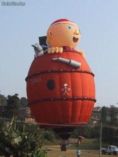 Special Shape Hot Air Balloon