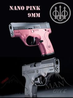 beretta nano pink, Everything is pretty in pink.
