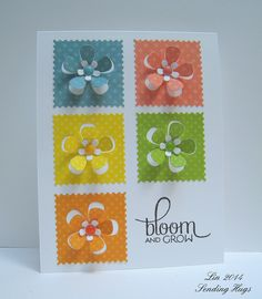 "https://flic.kr/p/o3puj7 | Bloom & Grow | Please visit <a href=""http://heartshugsandflowers.blogspot.com/2014/06/a-summer-garden-in-paper.html"" rel=""nofollow"">my blog</a> for details."