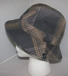 f24fde60d82 Kangol tweed new market trilby crusher style hat - new