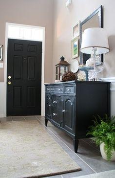 Dresser for entryway