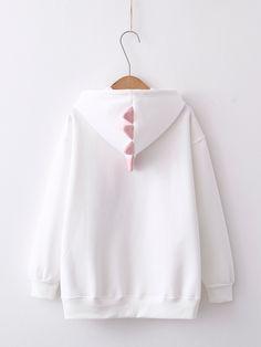 Kawaii Fashion, Cute Fashion, Fashion Outfits, Kawaii Hoodie, Mode Kawaii, Space Outfit, Trendy Hoodies, Pastel Outfit, Cute Jackets