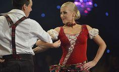 Krissen ja Matin iloinen freestyle-tanssi sai paljon kehuja.