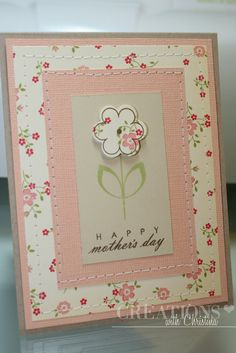 Creations with Christina: Mother's Day Card