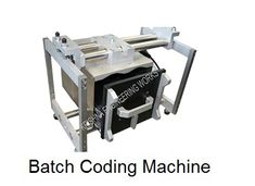 Specialized manufacturing, exporting and supplying of Batch Coding machine for all types of Laminates like Film, Paper, Aluminium, Foil, PVC, Plastic, LD, LDPE, PP, BOPP, Cloth, Biscuit Wrapper, Oil Wrapper, Soap Wrapper, Detergent Wrappers, etc. Offline Batch Coding Machine, Batch Printing Machine Manufacturer with Winding Rewinding Machine, Thermal Transfer Printer, Industrial Inkjet Printer.