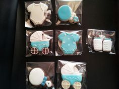 Galletas decoradas bautizo / Baby shower cookies.