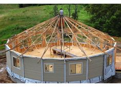 deltec homes prefab construction Silo House, Tiny House Cabin, Tiny House Living, Round House Plans, Small House Plans, House Floor Plans, Building Design, Building A House, Yurt Home
